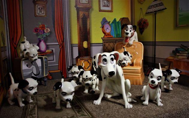 "alt=""Disney 101 Dalmations diorama"""
