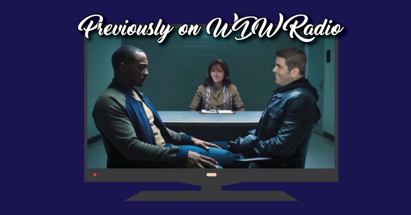 Lou and Beci photoshopped into the counseling scene from Falcon and Winter Soldier