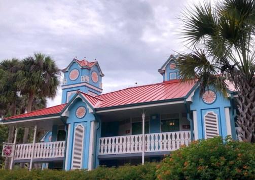 Exterior of Disney's Caribbean Beach Resort