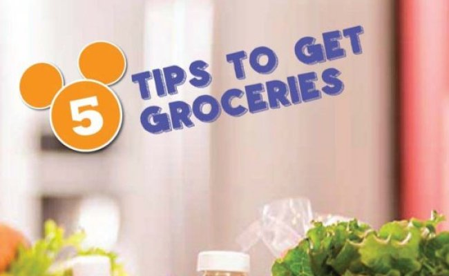 How To Get Groceries Delivered To Your Disney Resort Wdw