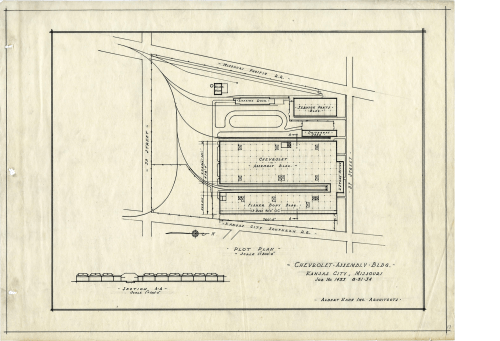 small resolution of ford automotive assembly plant plan 1 in 1934 bentley historical library and albert kahn associates