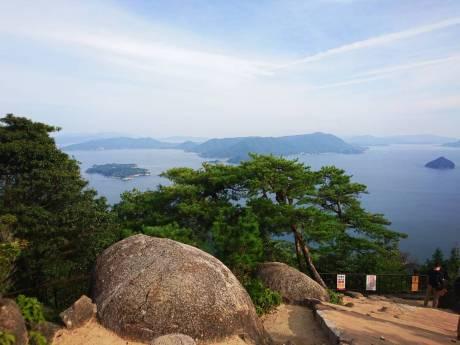 vue miyajima iles japon