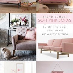 Pink Sofas Sofa Bed Assemble Trend Scout The Soft 10 Of Best We Are