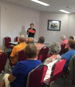 Presentation at Bowmanville Older Adult Association