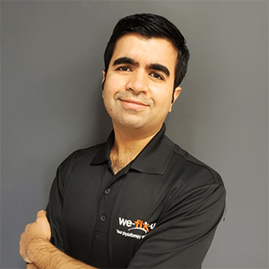 Manish Jagwani, Registered Physiotherapist