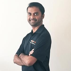 Mehul Patel, Registered Physiotherapist