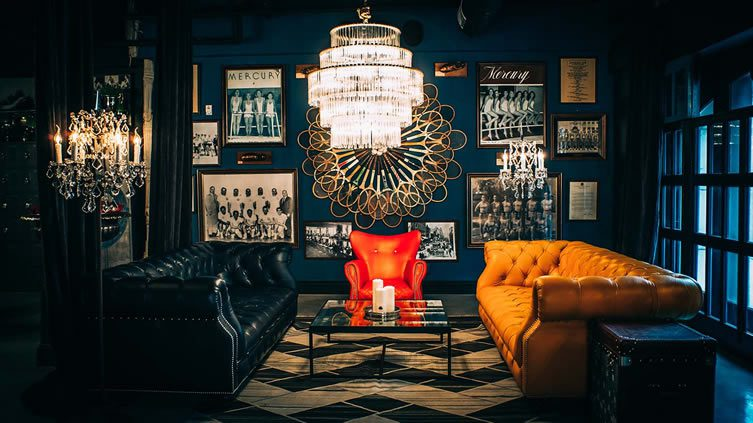 Blue Room Los Angeles Athletic Club