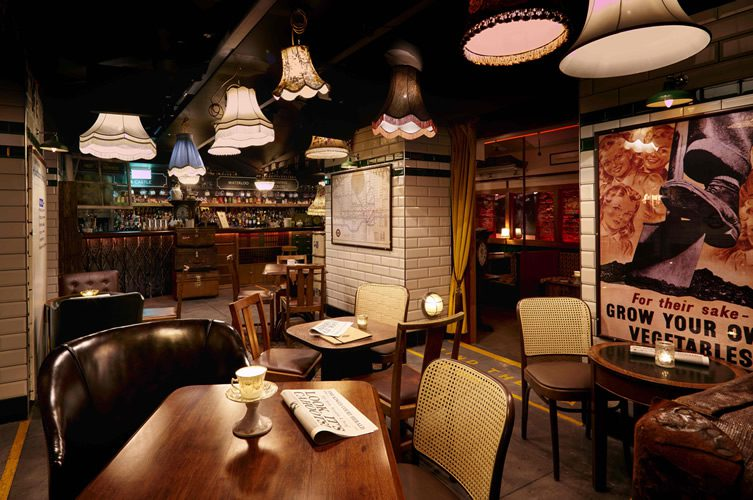 Cahoots Underground Bar London