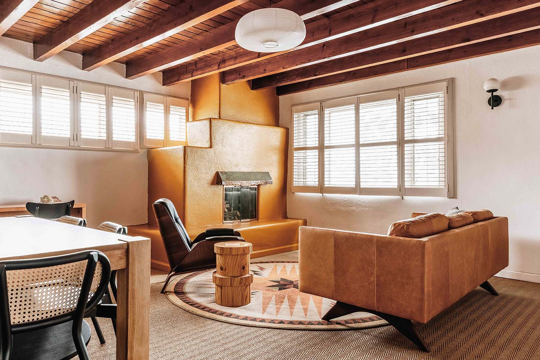 Santa Fe Design Motel El Rey Court Has Authenticity At Is Core