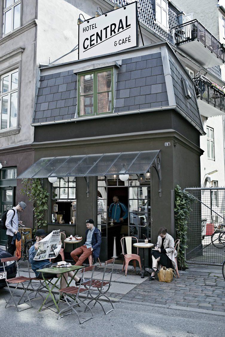 Central Hotel  Caf  Vesterbro Copenhagen
