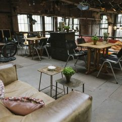 Industrial Kitchen Table Copper Backsplash Ideas La Soupe Populaire — Berlin