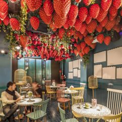 Painted Tables And Chairs Kelsyus Backpack Chair With Canopy Tickets Dessert Bar — Barcelona