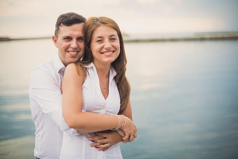 Erica e Luca Servizio di Coppia a Trieste