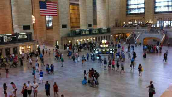 Grand Central Terminal et son Apple Store
