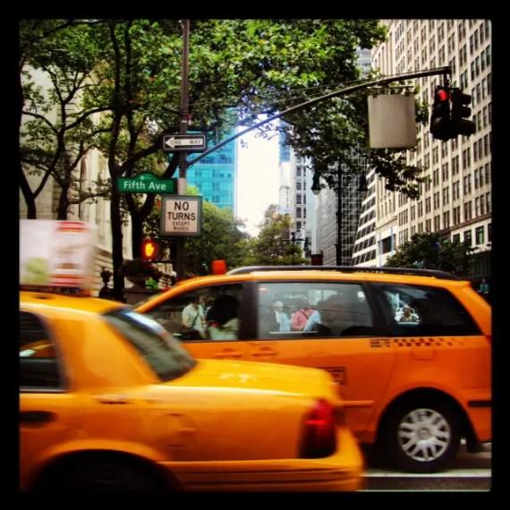 photos de New York yellow cab