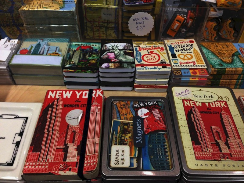 Acheter à New York des souvenirs 2