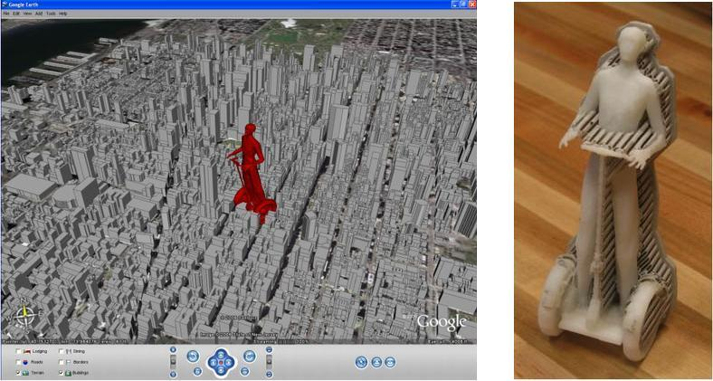 Avatar in Google Earth and 3D printed avatar.JPG