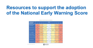 Resources to support the adoption of the National Early Warning Score