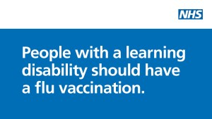 Flu vaccination for people with Learning disabilities