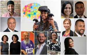 Innovators from the Diversity report