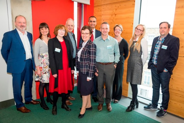Members of the Diabetes Digital Coach team at the NHS Test Bed launch in London