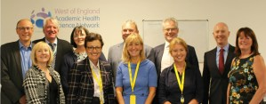 Professor Stephen Powis visits the West of England AHSN