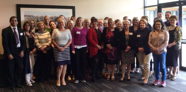 Members of our new Primary Care Collaborative at the launch event in May 2016
