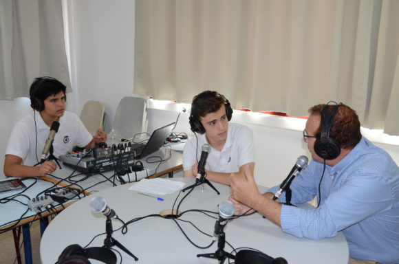Radio en directo durante la European Maker Week