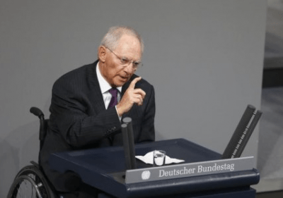 Germany's Schaeuble Says Ministers To Discuss Greek Credit Line Early December
