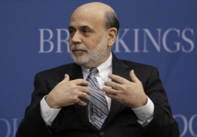 Bernanke sees no extreme moves in U.S. markets, asset prices
