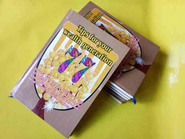 Wealthgeneration tips book Product
