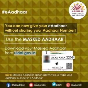 How to Download Masked Aadhaar (e-Aadhaar)