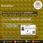 How to Download Masked Aadhaar (e-Aadhaar)