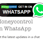 Moneycontrol alerts on WhatsApp – All you need to know