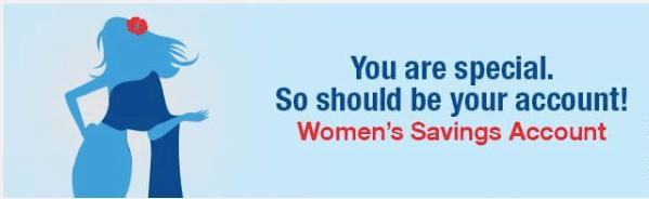 hdfc bank women savings account