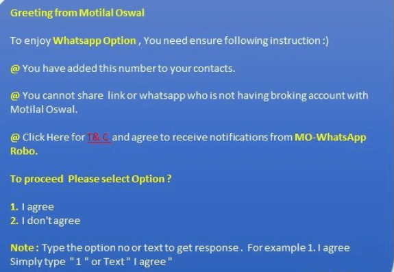 motilal oswal mf on whatsapp