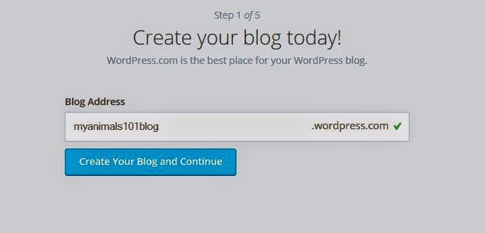 How to setup blog in 5 minutes
