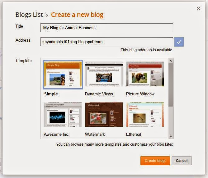 How to set up blog in 5 minutes