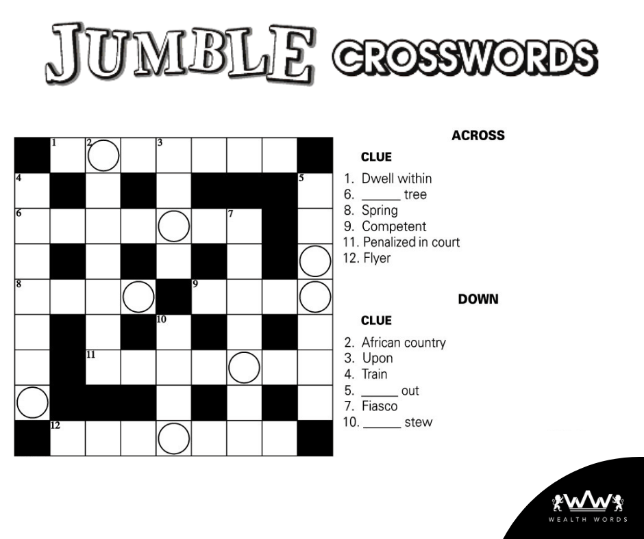 picture relating to Printable Jumble Crossword Puzzles referred to as participate in no cost crossword puzzle game titles on the web