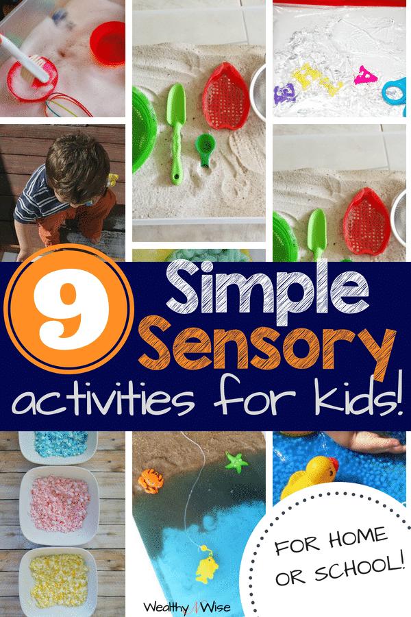 PIN NOW! Sensory Bins For Busy Moms! Sensory Activities For Kids, Sensory Bin Ideas, Sensory Activities For Toddlers, Sensory Activities For Preschoolers, Fine Motor Skills