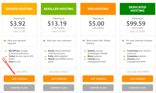 a2hosting account - join now - make money from it is to create a WordPress blog