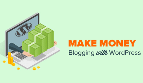 make money online bloging wordpress