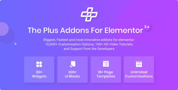 The Plus 4.1.12 Nulled – Addon for Elementor Page Builder