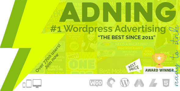 Adning Advertising 1.6.2 Nulled – All In One Ad Manager for WordPress