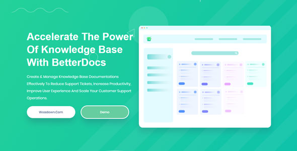 BetterDocs Pro 1.6.2 – Accelerate The Power Of Knowledge Base