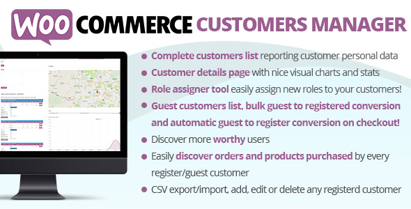 WooCommerce Customers Manager 26.6