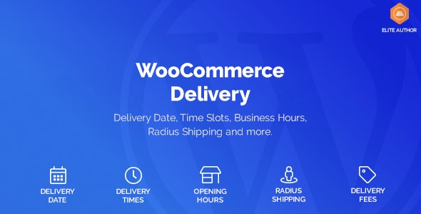 WooCommerce Delivery 1.1.23 – Delivery Date & Time Slots