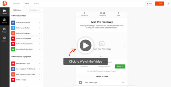 RafflePress Pro 1.6.1 Nulled – The Best WordPress Giveaway and Contest Plugin