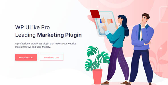 WP ULike Pro 1.6.2 Nulled - WordPress Leading Marketing Plugin - LatestNewsLive   Latest News Live   Find the all top headlines, breaking news for free online April 25, 2021
