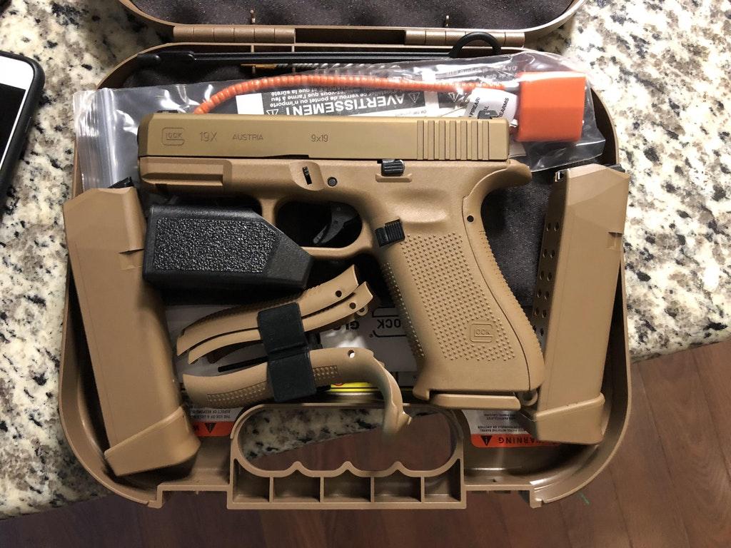 Glock 19x Milled Slide